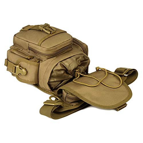 Rider Ceinture Leg Senoow Nylon Taille Militaire Drop Moto Vintage DC Bag Pack Fanny Hommes q6wT0f8