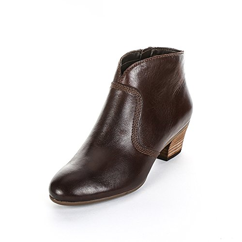 Stivali brown Melanie Leather Jane Marrone braun Cowboy Donna Bassi Clarks 8BEpxHH