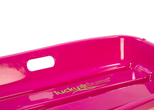 Snow Sled Kids Winter Toboggan Sled, 33-inch, Pink by Lucky Bums (Image #6)
