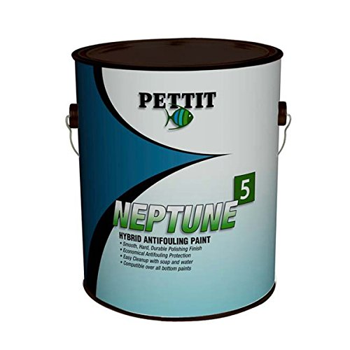 Pettit Neptune 5 Antifouling Paint Gallon - 1843G - Black