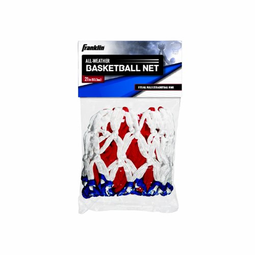 Franklin Sports Basketball Net, Red/White/Blue