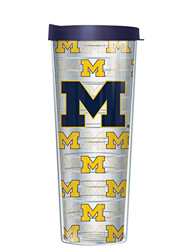 University of Michigan 30 Oz OMG Travel Tumbler Cup with Navy Lid