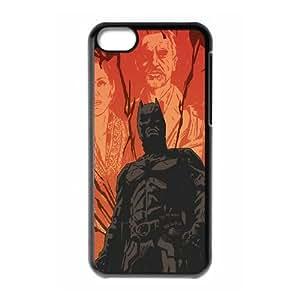 iPhone 5c Cell Phone Case Black Batman ComicsSLI_825720