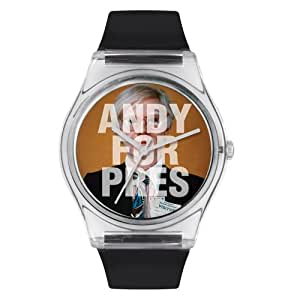 Andy Warhol Midsize Andy100 Andy Warhol for President 08 Watch