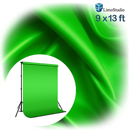 Limo9-X-13Ft-Green-Fabricated-Chromakey-Backdrop-Background-Screen-For-Photo-Video-Studio-Agg1846