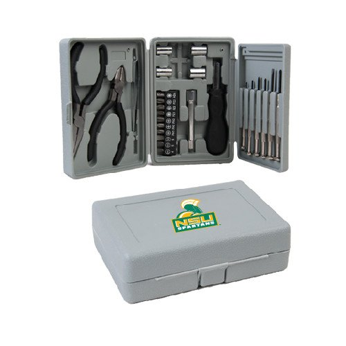 CollegeFanGear Norfolk State Compact 26 Piece Deluxe Tool Kit 'Official Logo' by CollegeFanGear