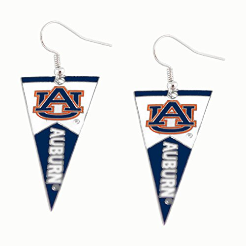 NCAA Auburn Tigers Pennant EarringsPennant Earrings, Team Color, 2.5