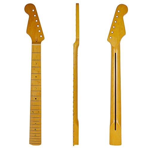 Kmise Lefty Left Handed Electric Guitar Neck for Strat Parts