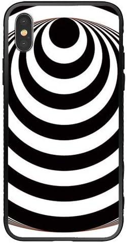 cronos スマホカバー ケース iPhoneXR(6.1インチ) 側面シリコン 背面ガラスケース 耐衝撃 ジャケット型 ミュージシャン ギター 布袋ファン布袋寅泰フェルナンデスGuitarhythm BOOWY roc0007 受注生産