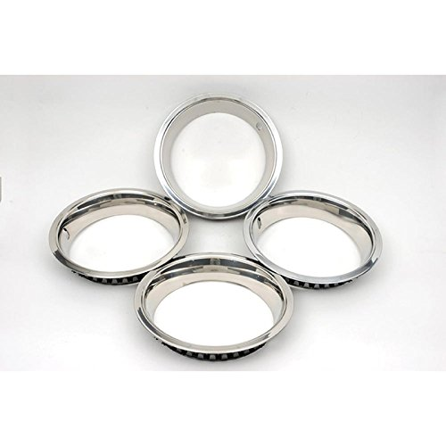 Eckler's Premier Quality Products 75-260359 Firebird Wheel Trim Ring Set, 14 x 7, With Inside Style Clips,