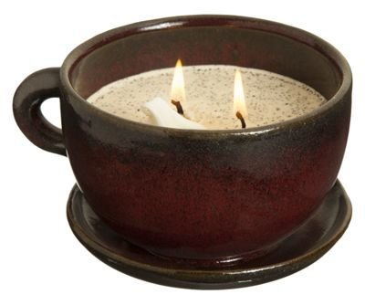 Swan Creek Coffee Mug Scented Candle Large 11 oz (Warm Cinnamon Buns Scent)