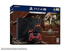 PlayStation 4 Pro 1TB Monster Hunter World Limited Edition System