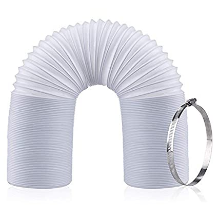 C-leo Portable Air Conditioner Exhaust Hose | 5 9 inch Diameter | 59 inch  Length | Extra Long Flexible AC Connector Extension