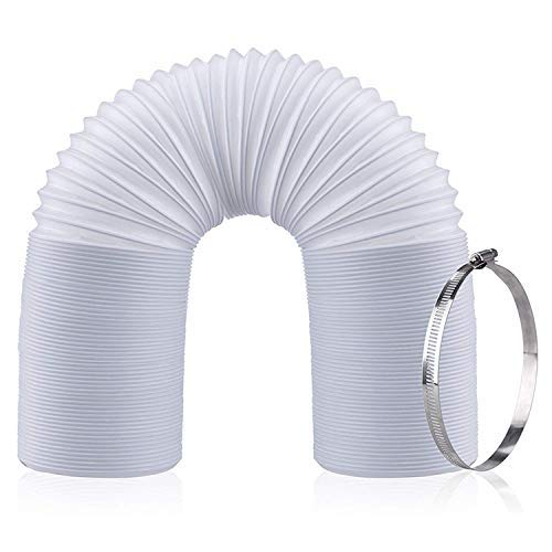 Duct Conditioning Air (C-leo Portable Air Conditioner Exhaust Hose | 5.9 inch Diameter AC Vent Tube | 59 inch Length | Flexible AC Duct Dryer Extension)