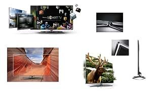"Samsung UE55D8000YS - Televisor (139,7 cm (55""), Full HD, 1920 x 1080 Pixeles, Analógico y Digital, DVB-C, DVB-S2, DVB-T, Skype) Gris"