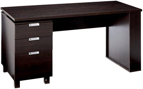 247SHOPATHOME YNJ-1459C5 Home-Office-desks, Espresso