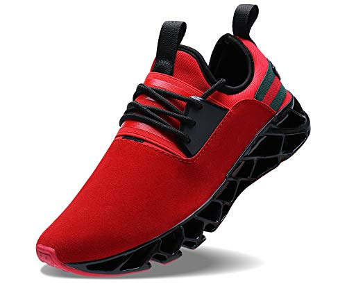 Sneakers Running Athletic Shoes - Mens Walking Tennis Shoes Running Athletic Fashion Blade Sneakers