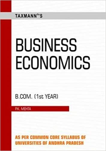 Buy Business Economics: B Com - Ist Year Book Online at Low Prices