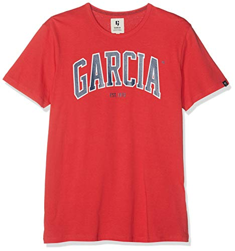Rouge Homme Garcia 3016 T shirt Red chili qtR6awzRx