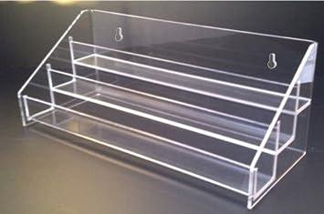 Expositor de laca de uñas/Organizador escritorio capacidad para 30 botellas en la pared: Amazon.es: Bricolaje y herramientas