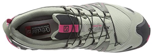 Running sangria 3d Trail black Shadow Para Pro Gris black Mujer Xa Salomon Gtx sangria shadow Impermeable De Calzado qB0Rx1