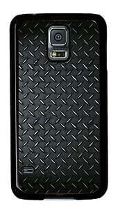 Metal Surface Bumps Texture Samsung Galaxy S5 Black Sides Hard Shell Case-comfort Samsung Galaxy