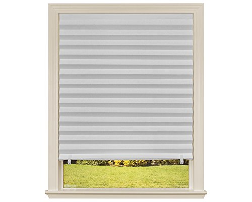 Window Blinds Pleated Original Pleated White Paper Shade 36