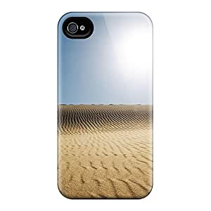 Tpu Case For Iphone 4/4s With Sunny Desert