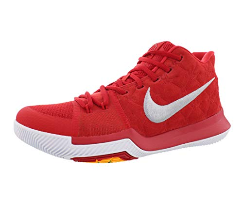 5cd53a0c8e022 NIKE Kyrie 3 Basketball Shoes Kyrie Irving Mens University Red/Grey/White  New 852395
