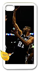 iphone4,4s custom case,iphone4,4s,Tim Duncan case,All star Cover Case for iphone4,4s.