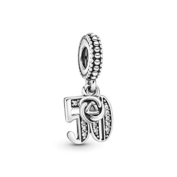 Pandora Bead Charm Donna argento - 797264CZ 1