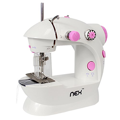 NEX Sewing Machine FHSM-202 Automatable with Potective Cover 2-Speed Seamer With Foot Pedal