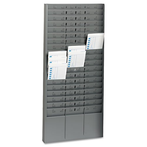 MMF27018JTRGY - MMF Steel Time Card Rack with Adjustable Dividers by MMF
