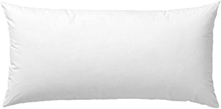 White Polyester Cojines Home Cushion Inner Filling Pillow Sofa Cars Cushion Soft Pillow Insert Cushion Insert Cushion Core Square Form Standard 20x20 Inch