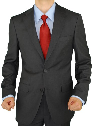 Presidential Giorgio Napoli Men's 2 Button Suit Separates Blazer