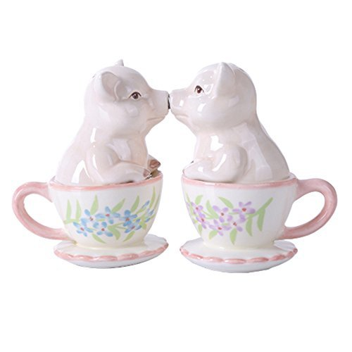 salt and pepper shakers kissing - 4