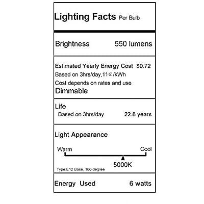 LOHAS LED 9W G25 E26 Daylight/Warm White 2700K LED Light Bulbs,Brightest 60 Watt Light Bulbs Replacement LED Lights