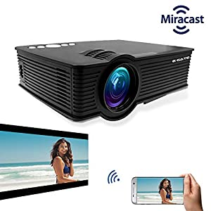 "Best EGATE i9 MIRACAST LED HD PROJECTOR – HD 1920 X 1080 – HDMI – USB – VGA – 120"" DISPLAY In India"