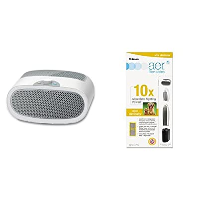 Holmes HEPA-Type Desktop Air Purifier with 3 Speeds and Quiet Operation, HAP9240