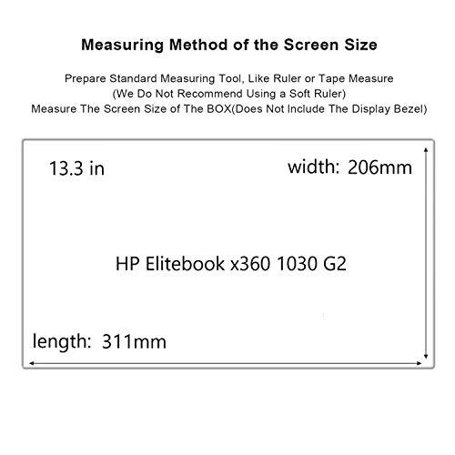 HP Elitebook x360 1030 G2 Screen Protector,HD Clear LCD Anti-Scratch Anti-Fingerprints Guard Film For 13.3''HP Elitebook x360 1030 G2 Laptop(2-pack) by Liudashun (Image #1)