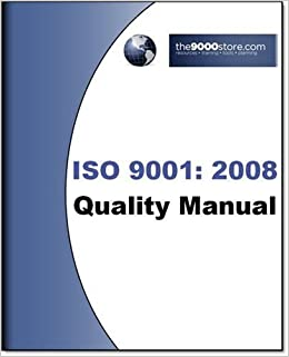 iso 9001 quality manual template free