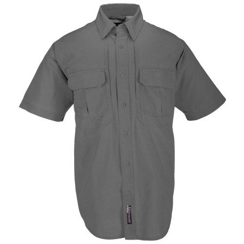 Mens 5,11 Tactical-Camicia da lavoro in cotone con maniche, tutti i colori), 3XL taglie XSM-R/T-FAL somma) SPR-WIN