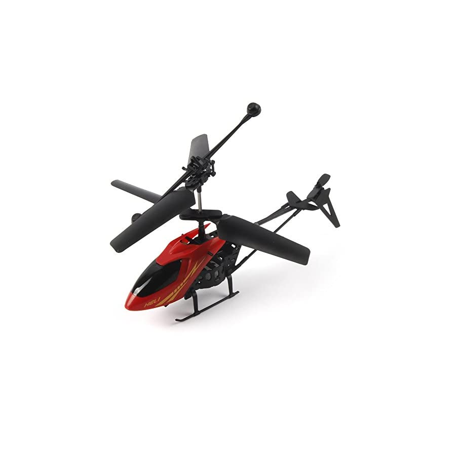 RC Helicopter, RC 901 2CH Mini Helicopter Radio Remote Control Aircraft Micro 2 Channel, Mini Drone for Kids, Beginners, Best Gift