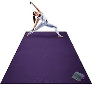 Amazon.com : Premium Extra Large Yoga Mat - 9' x 6' x 8mm