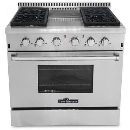 36 inch oven range - 4