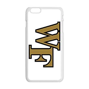 NCAA Wake Forest Demon Deacons White Phone Case for iPhone 6plus