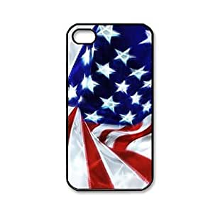 NEW American Flag Pattern Plastic Hard Case for iPhone 4/4S