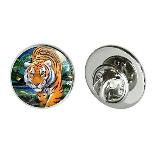 (GRAPHICS & MORE Tiger Stalking at Sunset Butterflies Metal 0.75