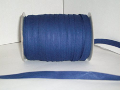 Navy Double Fold Bias Tape 50 Yds. 1/2 Inch by MJ's Crafts & More