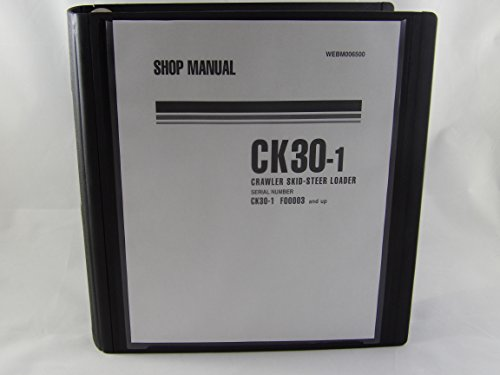 Komatsu Crawler Skid Steer Loader Ck30 1 Service Repair Manual